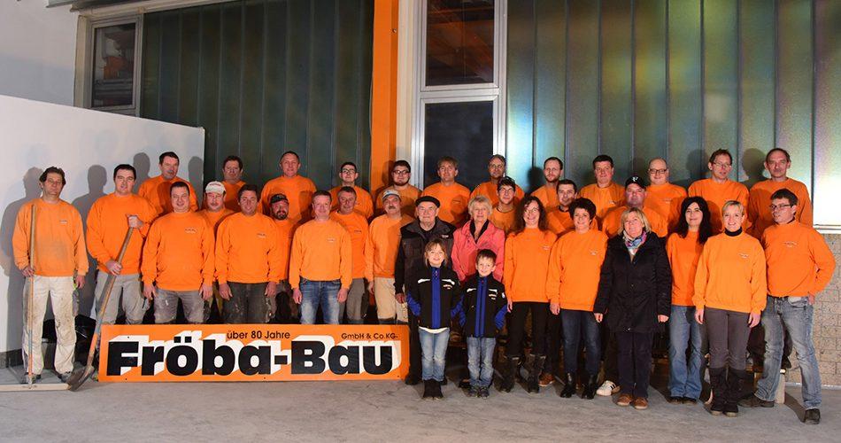 froeba bau buchbach teamfoto